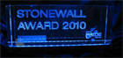 Stonewall Award | Outstanding Contributions for the LGBT Community